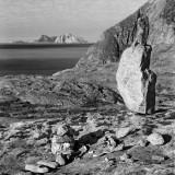 Lofoten Islands in the Ocean