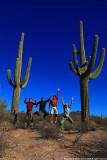 Team Jump at Organ Pipe Cactus N.M., Arizona