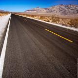 Death Valley N.P. Road, California, USA
