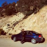 Hitting the road, Sierra Nevada Mountains, CA, USA