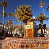 Juan Rodriguez Cabrillo Fountain, Avalon, St.Catalina Islland, CA, USA