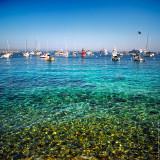 Calm bay, Avalon, St.Catalina Islland, CA, USA