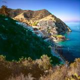 Hamlin Cove community overview, Avalon, St.Catalina Islland, CA, USA