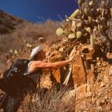Oleg K & cactus, Avalon, St.Catalina Islland, CA, USA