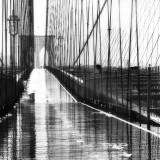 Brooklyn Bridge Rain, NYC