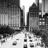 Along The Monroe Street, Chicago