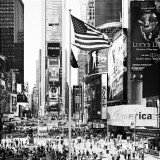 Times Square Rush, NYC