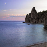 Lake Baikal at night