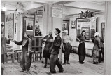Cafeteria of the Workers' building, the Hotel Metropol, Moscow, USSR, 1954