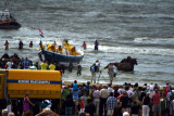 Lancering van de reddingsboot