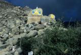 Way up to Drepung Monastry
