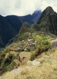 Machu Picchu seen from the Inca Trail
