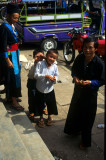 Meo people in Vientiane