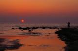 Sunset at Kijkduin