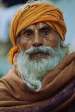 guru at the monkey temple