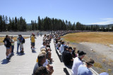 tourists from everywhere at Old Faithful Yellowstone _DSC8191.jpg