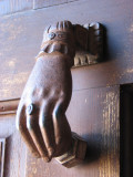 Spanish 18th century door knocker Owens residence Old Town Pocatello IMG_1598.JPG