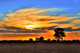 Sunset - Moama, New South Wales
