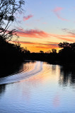 Echuca river sunset