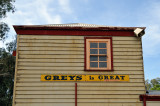 Weatherboards  & sign
