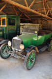 Old green Ford