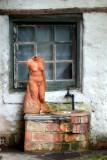 Unfinished sculpture ~