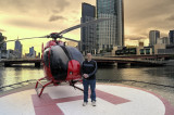 Melbourne by helicopter