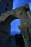 St. John the Evangelist church ruins, evening