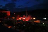 Rab Town night celebration