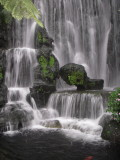 Waterfall at the Longshan Temple