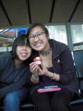 Khanhsong, Amy and our yet to be named mascot
