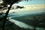 Susquehanna River looking West from Council Cup near Nescopeck, Pa.