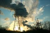 Power lines. Near Nuke Plant Berwick Pa.