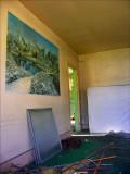 Inside view of an abandoned home near Shamokin Pa.