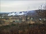 Centralia burning. Taken in 2001.