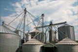 Grain storage.