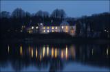 Dallund Castle by night