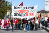The Summer Olympic Demonstrations in San Francisco