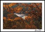 Fall Framed Lake