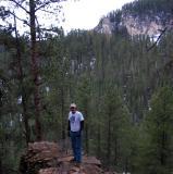 Above Cheyenne Crossing