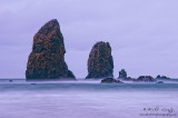 Oregon sea stacks