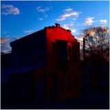 RED red dawn at Humelgem