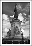 Statue place de la République - Egalité