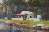This is what the cottage looked like when Bruce & Lexy Kennerson bought it at auction. Pretty run down!!