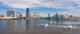 N_112468p  - Jacksonville Skyline panorama