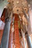 Inside La Sagrada Familia  #39503