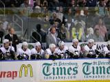 P1020921 - Michel Therrien & the Penguins Bench