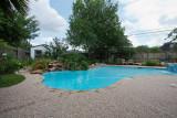 Very full pool