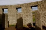 Wind Turbines from Maryhill Stonehenge Washington