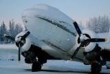 TransNorthern Super DC-3 N29TN hibernating at PAWS